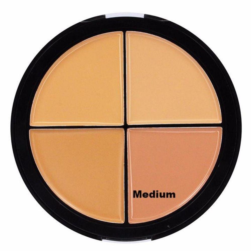 City Color Foundation Wheel Cream To Powder Finish 4 X 4,5 gr (2)