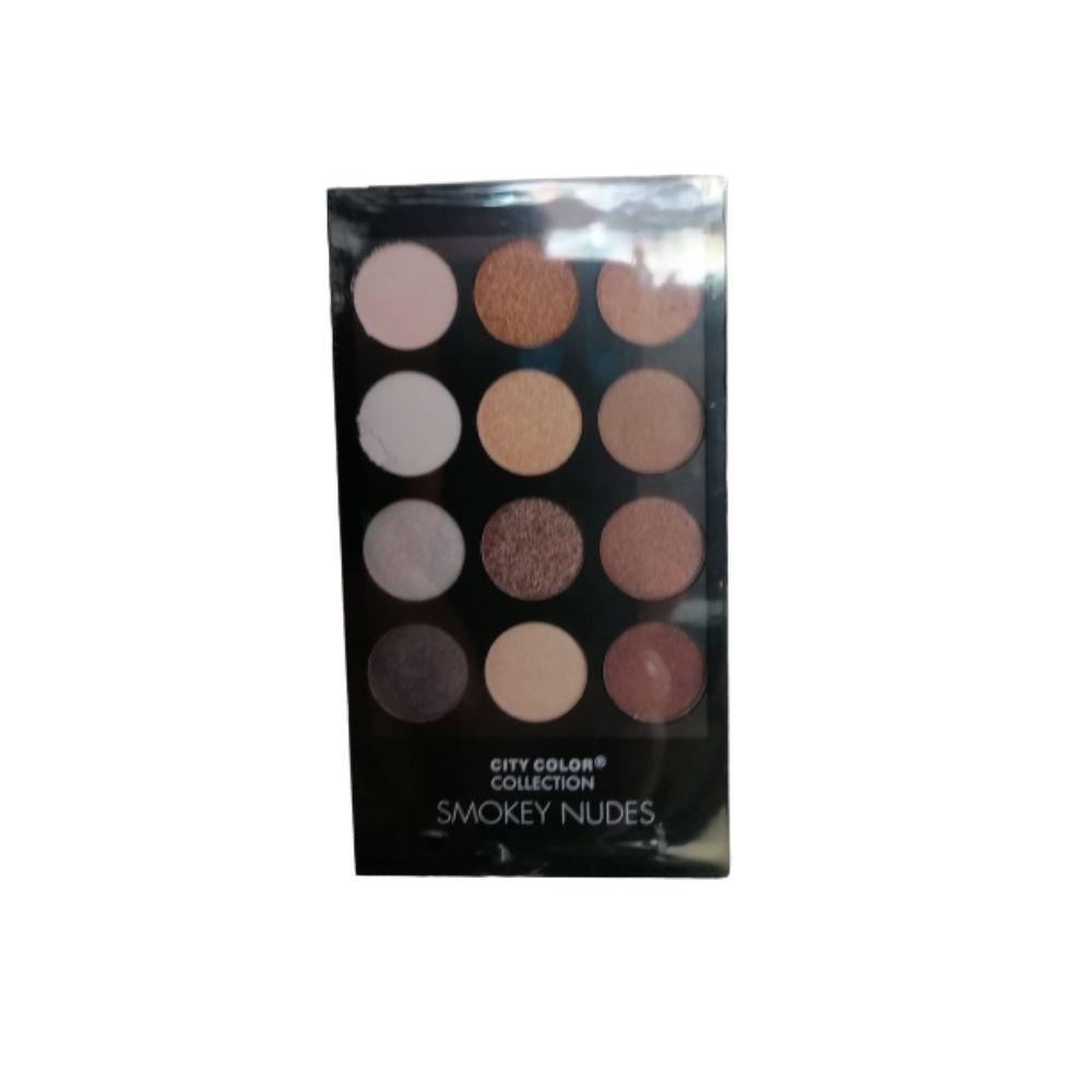 City Color Smokey Nudes Eyeshadow Palette 2 1