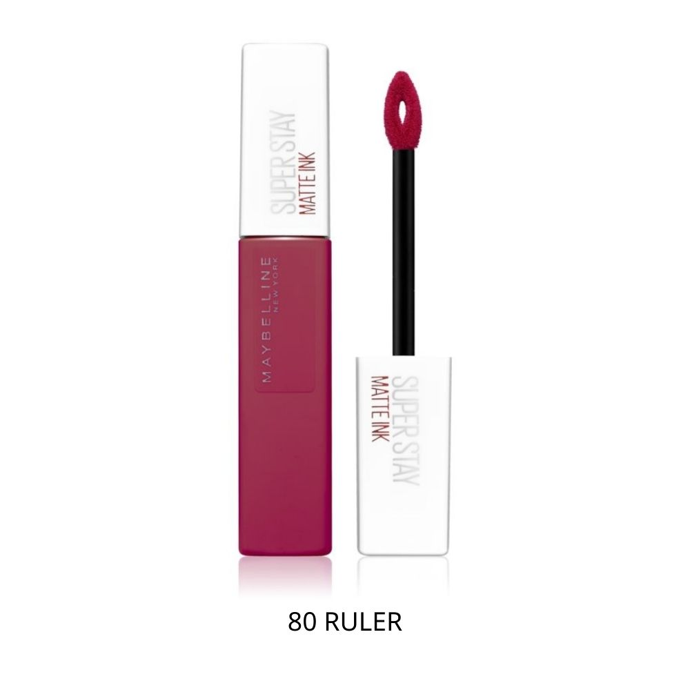 maybelline superstay matte ink 80 RULER