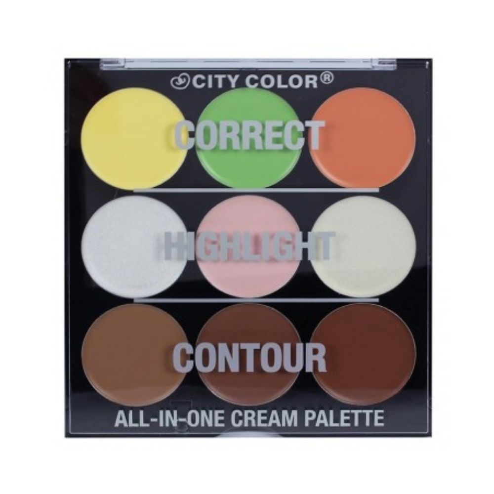 City Color Correct Highlight Contour 9 X 25 gr